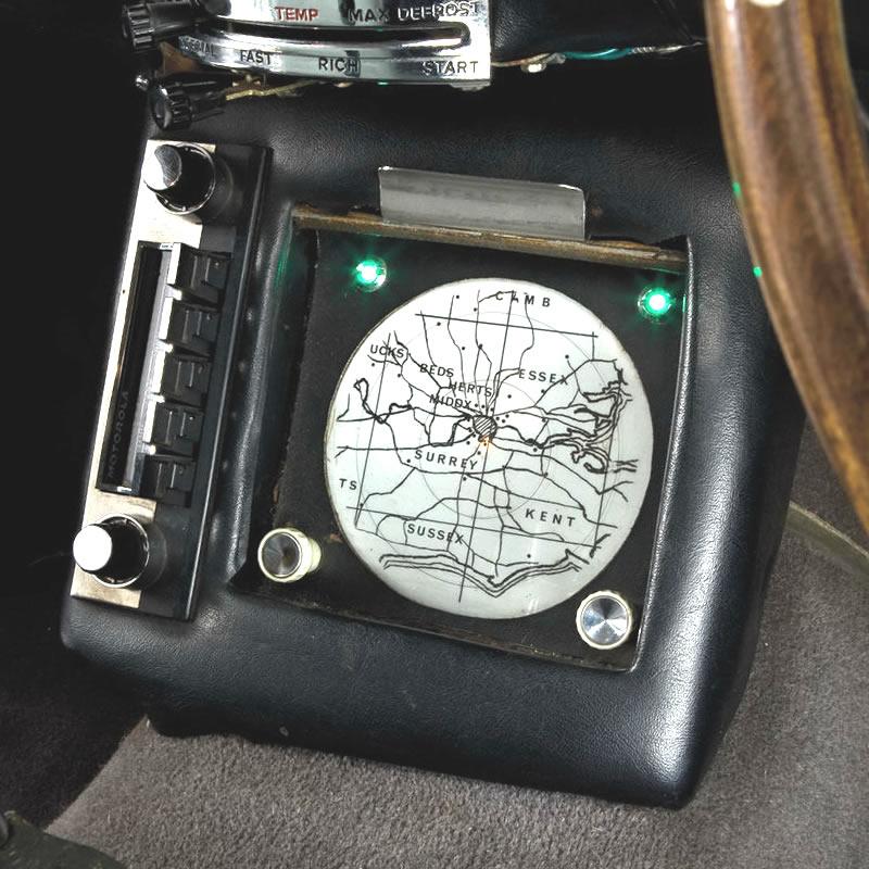 James Bond Aston Martin map