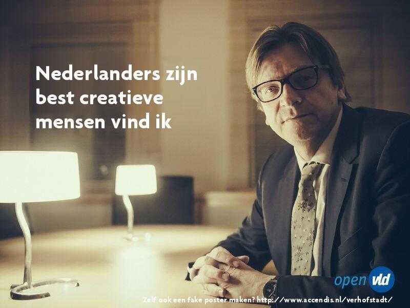Makers Verhofstadt-poster generator