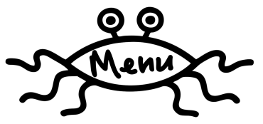 flying spaghetti menu
